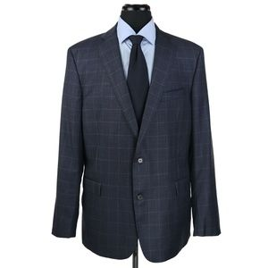Brooks Brothers Regent E Thomas Wool Suit Checks